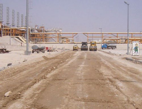 Construction of access roads, South Pars Gas Field Development Project – Phases 9 and 10