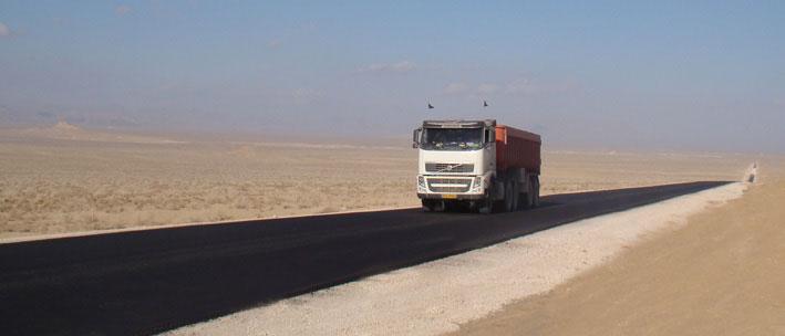 Construction of Haresabad – Abarkooh main road