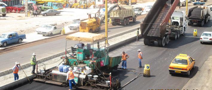 Renovation of Ghazvin – Eghbaliyeh main road