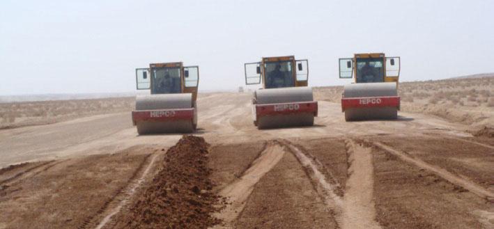 Construction of Abarkooh – Jarghooyeh main road