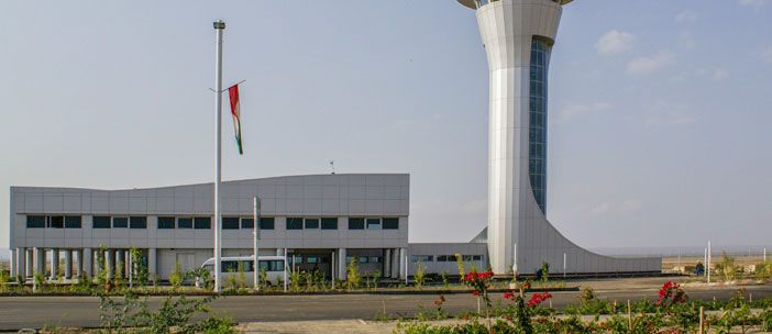 Remaining works pertaining the control tower, buildings, and the landscaping of Persian Gulf International Airport